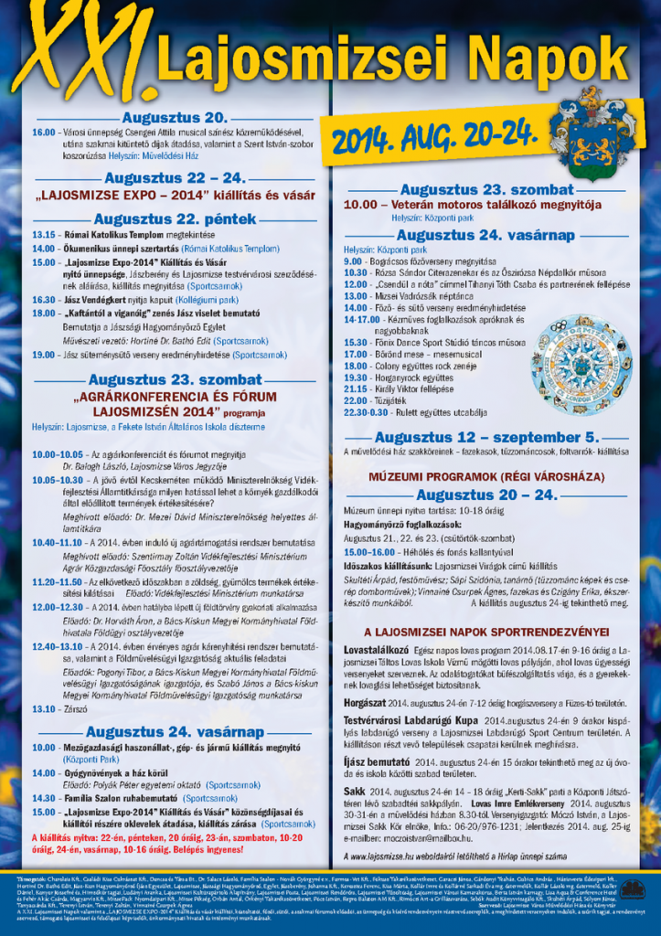 LajosmizseiNapok 2014 plakat_k